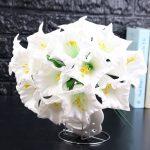 Artificial <b>Florida</b> high-end simulation flower datura flower <b>garden</b> decoration artificial flower