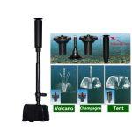 Mini Aquarium <b>Fountain</b> Maker Oxygen Circulation Submersible <b>Fountain</b> Water Pump For <b>Garden</b> Pond 220-240V 8W/16W/22W