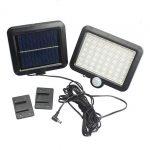 Mayitr Outdoor Solar Powered Flood Light 56 LED Spotlight Lamp Waterproof <b>Garden</b> Pool <b>Fountain</b> Lighting for Lawn Hotel