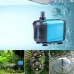 Aquarium Pump Submersible <b>Fountain</b> Water Pump Bomba For Pond Fish Tank <b>Garden</b> Water Circultaion 20/40/55/65W
