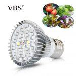 Full Spectrum Led Grow Light AC85-265V Spotlight Bulb Led Bombillas e27 full spectrum <b>Hydroponic</b> Plant Seedling Growing Lighting